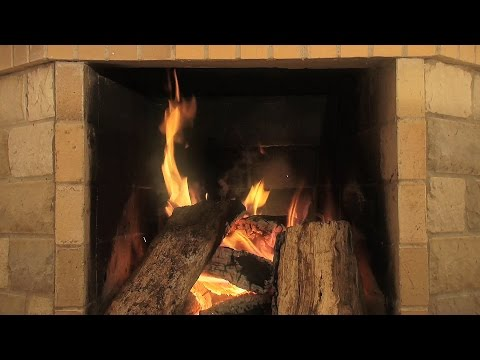 Stone Fireplace Video - Download for your HD TV
