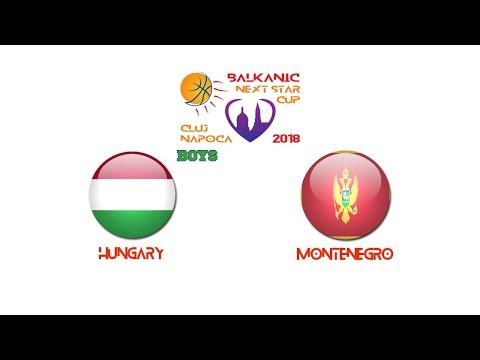 BALKANIC NEXT STAR 2018: Hungary - Montenegro