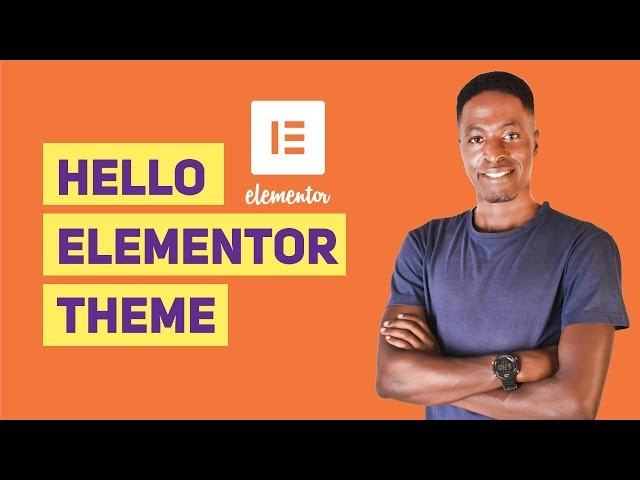 Hello Elementor Theme - Free, Fast and Versatile [First Impressions]