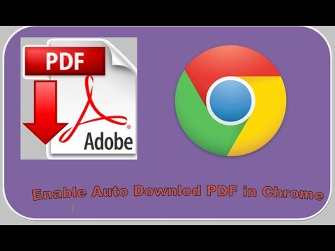 Make google chrome download pdf files instead of opening them.