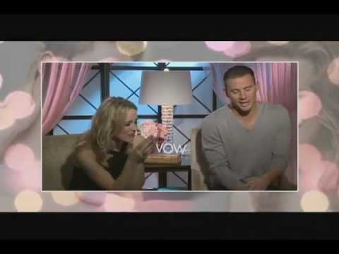 Entrevista Rachel Mc Adams y Channing Tatum - Votos de Amor (The Vow)