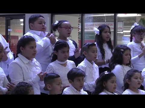 EPISD Singing Signing Santa Event