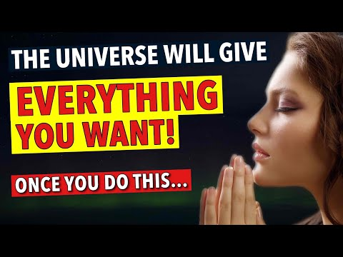 """""""The Universe Will Give You Anything You Want"""" - GOD SAYS YES (Law of Attraction)"""