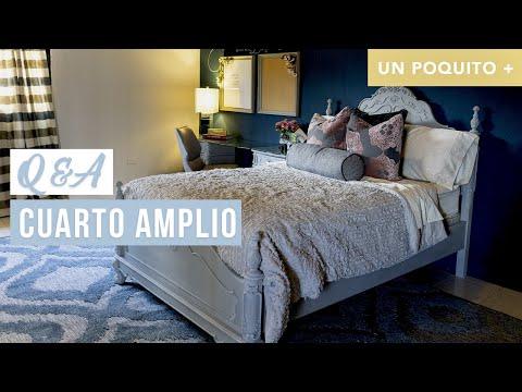 Q&A | UN POQUITO + |  Personalidad & Color Para Un Dormitorio Amplio