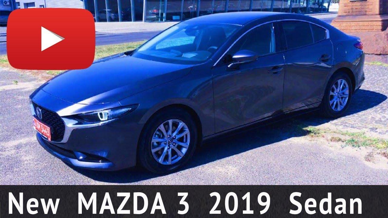 MAZDA 3 2019 Новая Мазда 3 Sedan