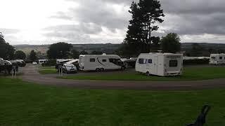 Richmond Hargill Caravan Club Site Yorkshire