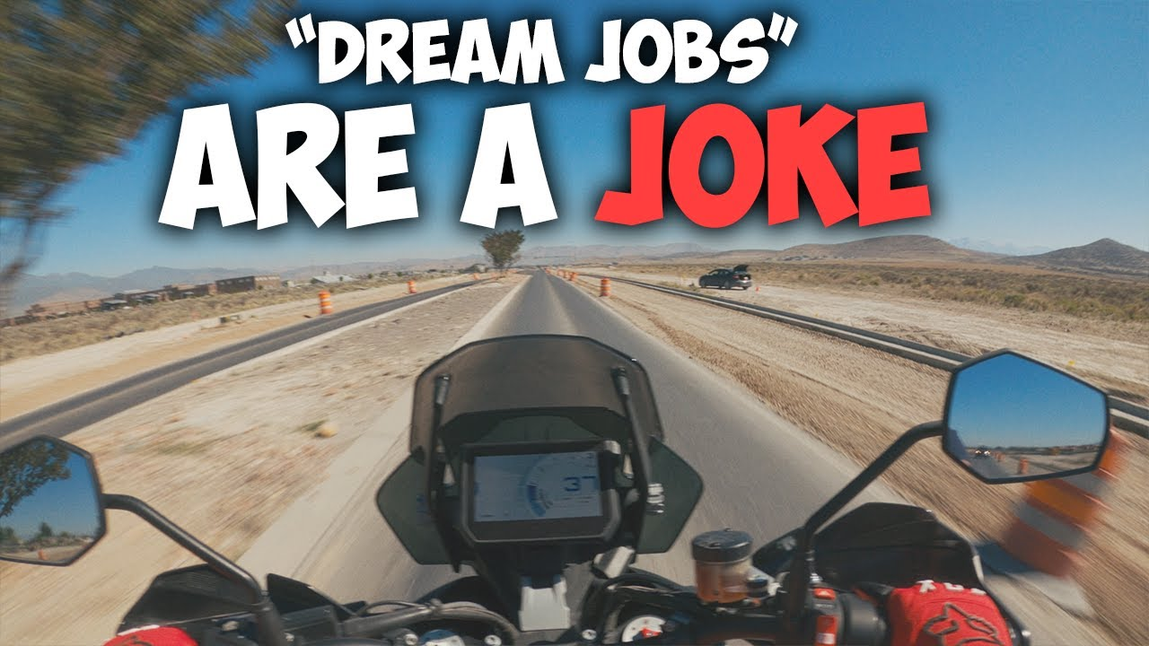 """[RANT] Why your """"DREAM JOB!"""" is a JOKE (This video is for Mike)"""