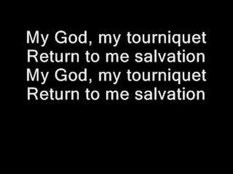 Evanescence - Tourniquet (lyrics)