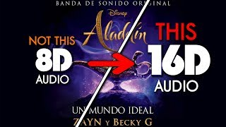 Zayn Becky G Un mundo ideal 16D AUDIO NOT 8D 9D.mp3