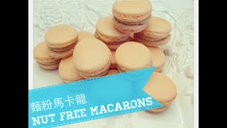 Cookingwith Janice❤麵粉馬卡龍-nut Free Macarons-flour Macaron