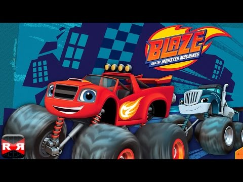 Blaze and the Monster Machines (By Nickelodeon) - iOS / Android - Gameplay Video