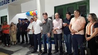 Ibicuitinga: Dr Lopes - Gestão Franzé entrega posto de saúde reformado  à comunidade