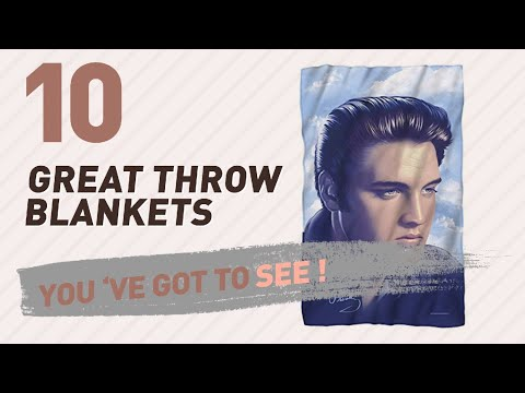 Elvis Presley Throw Blankets // New & Popular 2017