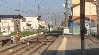 阪神8000系8245F直通特急姫路行き 中八木駅通過