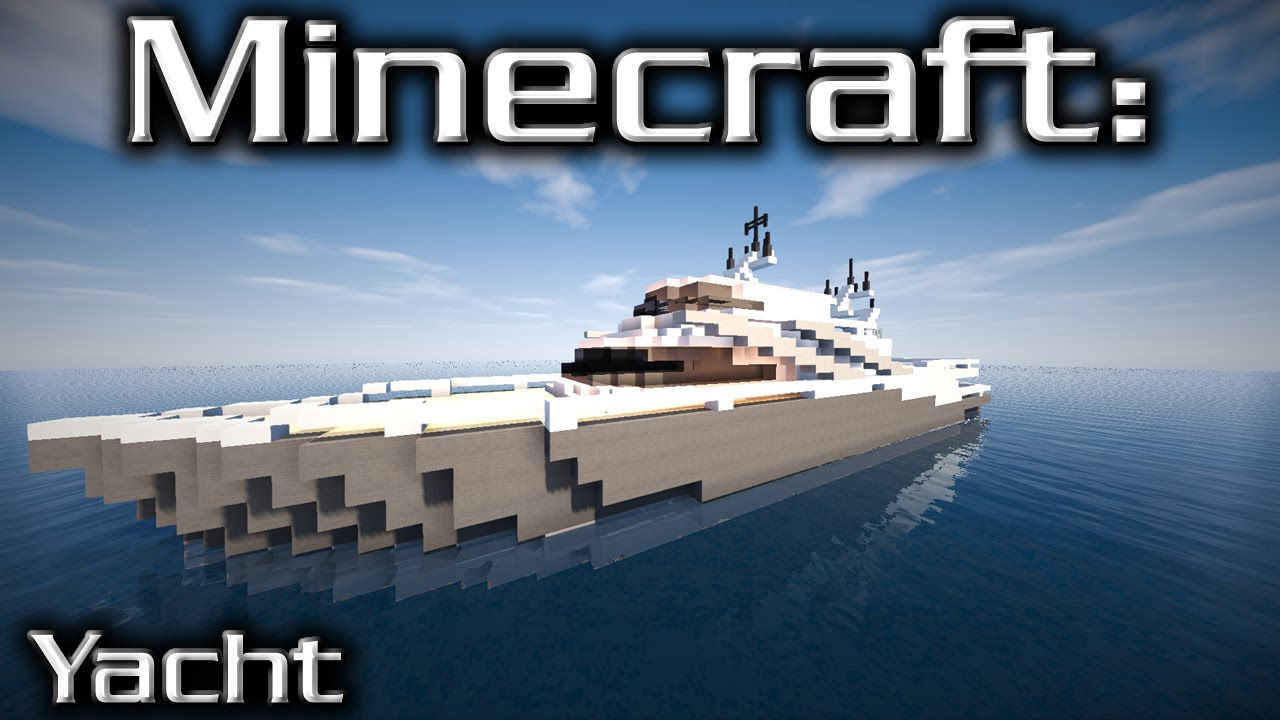 minecraft yacht tutorial amelia youtube. Black Bedroom Furniture Sets. Home Design Ideas