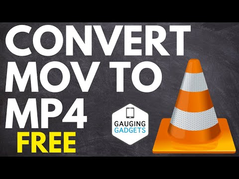 How to Convert MOV to MP4 Using VLC Media Player - MOV to MP4 Converter Free