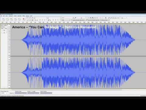 Demonstration of Effect of Remastering and the Loudness War