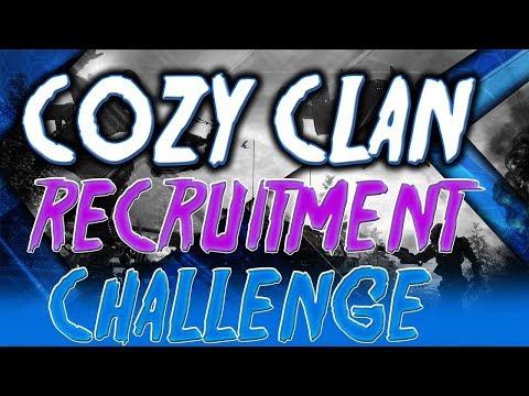 2017 CoZy Clan Recruitment Challenge!