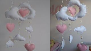 DIY – Móbile Chuva de Amor – Bia Feltz