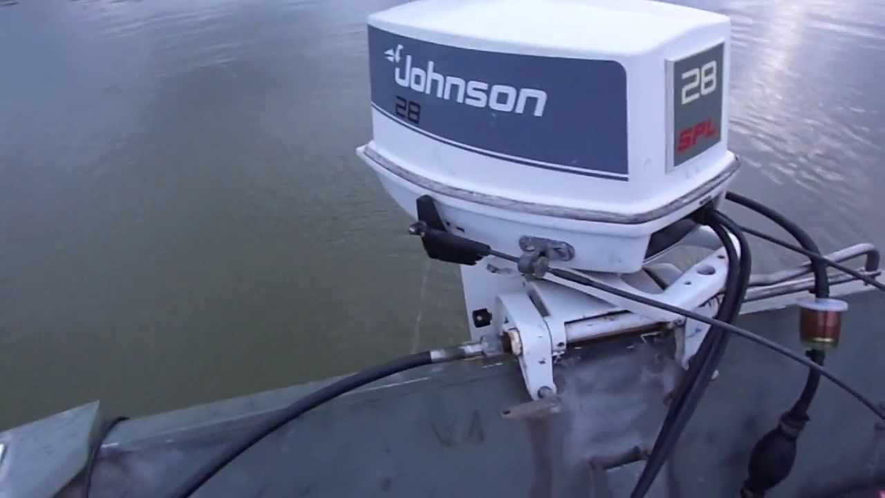 small resolution of lake test of 1988 johnson 28 spl youtube28 hp johnson outboard wiring diagram 15