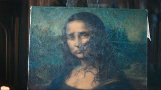 MIDEA air conditioner commercial: Sad Mona Lisa