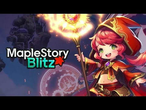 MapleStory Blitz Official Launch Video (English Subtitles)