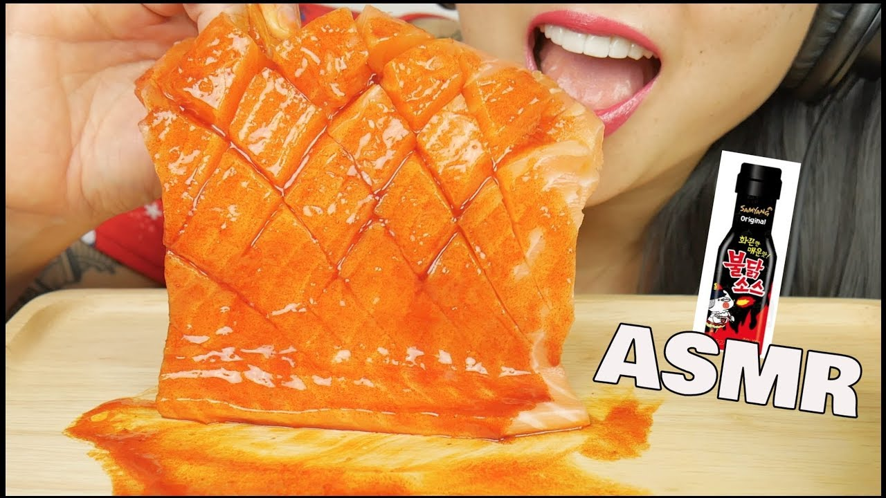 Asmr Salmon Sashimi Fire Sauce Savage Eating Sounds No Talking Sas Asmr Youtube Videos that don't necessarily have a sexual overtones but are still sexy. youtube
