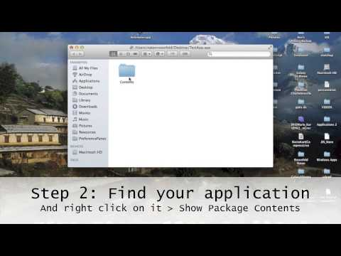 How to convert .jar to .app on Mac - a Java tutorial