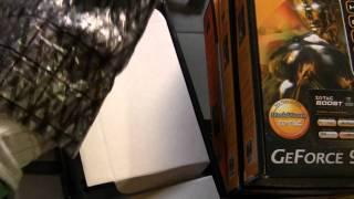 видео Видеокарта Zotac 9800GTX