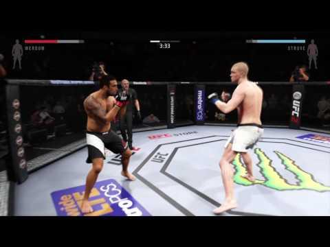 EA SPORTS™ UFC® 2 David contre Golihat