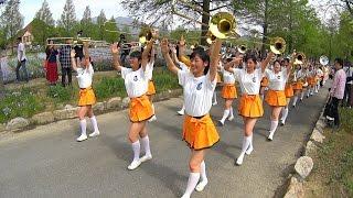 ブルーメの丘パレード2016 京都橘高校吹奏楽部<FULL 14:00~> PART2 Kyoto Tachibana SHS Band