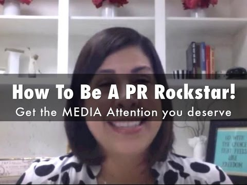 How to be a PR Rockstar! Get the MEDIA Attention you deserve on the 10k in 30 day live webinar