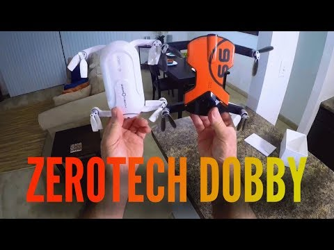 Zerotech Dobby Pocket Drone Unboxing And Setup Youtube