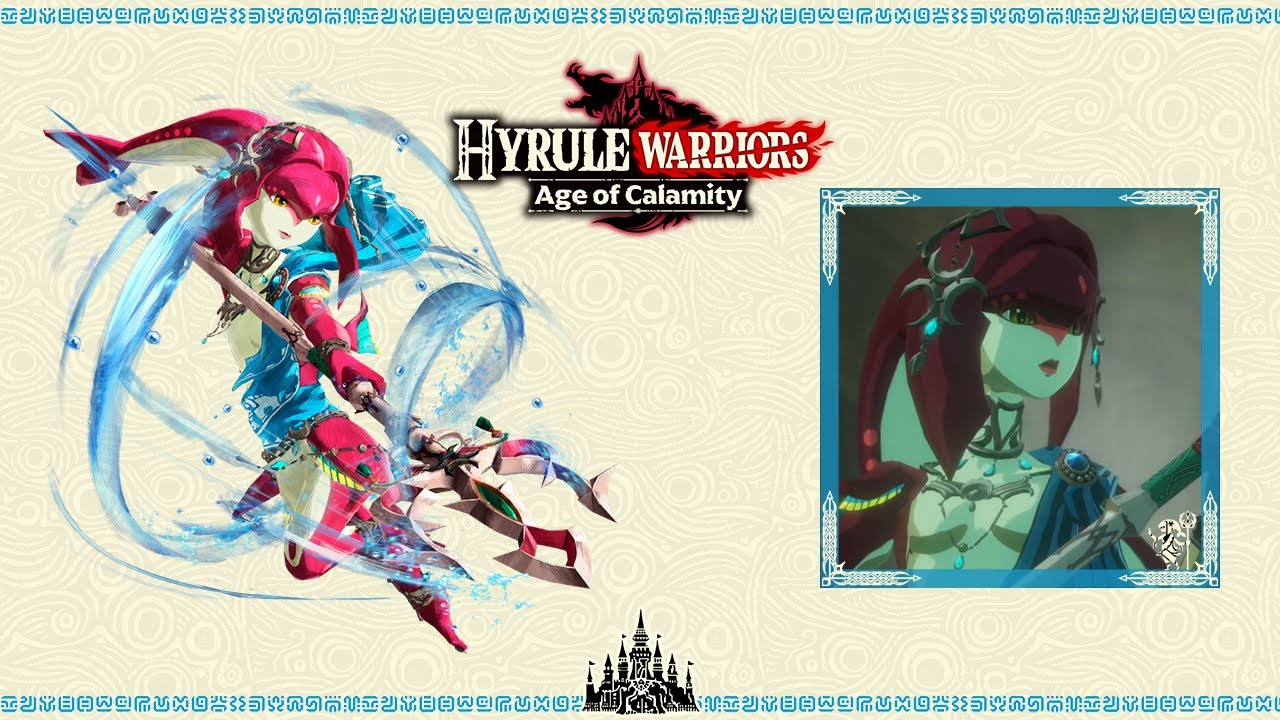 The Champion Mipha Epic Version Hyrule Warriors Age Of Calamity Ost Youtube