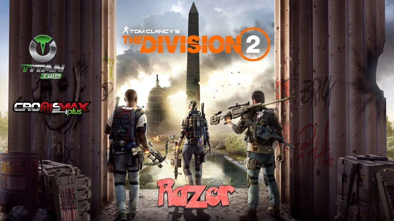 THE DIVISION 2 RAZOR 1 0 BEST SCRIPT AIM ASSIST RAPIDFIRE NO RECOIL  CRONUSMAX TITAN TWO