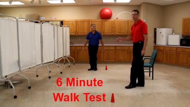 6 Minute Walk Test for COPD Heart Disease Chronic ...
