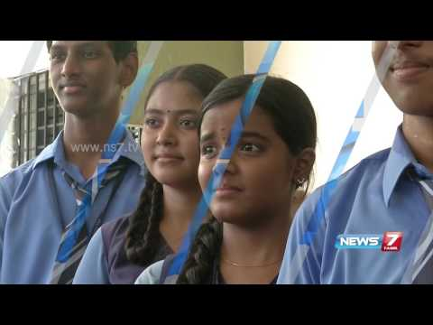 4 Chennai Velammal matric school students gets state ranks | News7 Tamil
