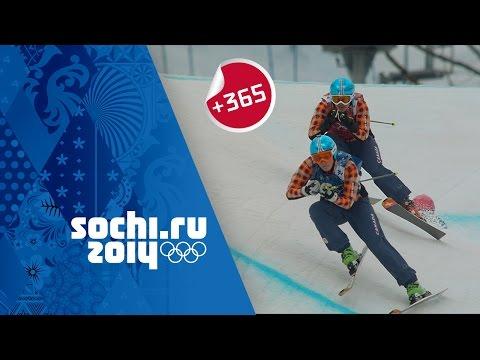 Canada's Marielle Thompson Wins Gold - Women's Ski Cross Full Event | #Sochi365