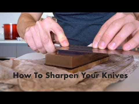How to keep your kitchen knives sharp // Frankie Cooks