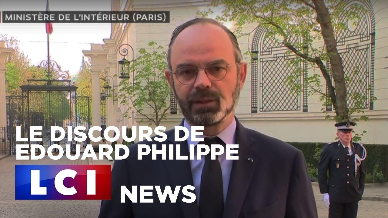 """Edouard Philippe  """"La vague est extrêmement élevée"""""""