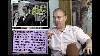 U CENTAR Dr Dragan Petrović: Vučić je neprijatelj siromašnih u Srbiji