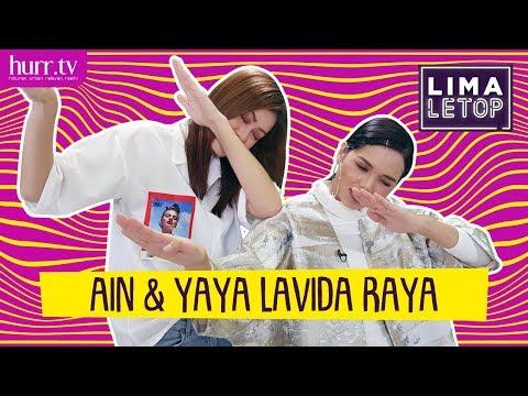 LimaLeTop!   Ain Edruce & Yaya Zahir Lavida Raya