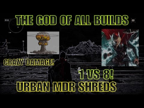 The Division GOD OF ALL BUILDS!! URBAN MDR SHREDS!