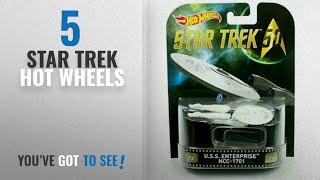 Top 10 Star Trek Hot Wheels [2018]: HOT WHEELS STAR TREK U.S.S. ENTERPRISE NCC-1701 RETRO