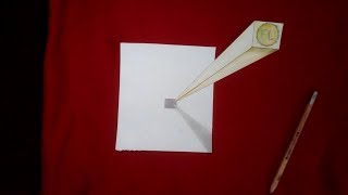 Optical illusion drawing - How to Draw 3d illusion art -Speed Drawing  - YouTube