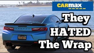 I Took My Wrapped Camaro to Carmax: You'll NEVER BELIEVE What Happened