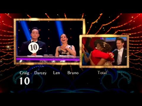 Darcey Bussell's reactions to Craig's first 10 of the series (Strictly Come Dancing, 2012-2018)