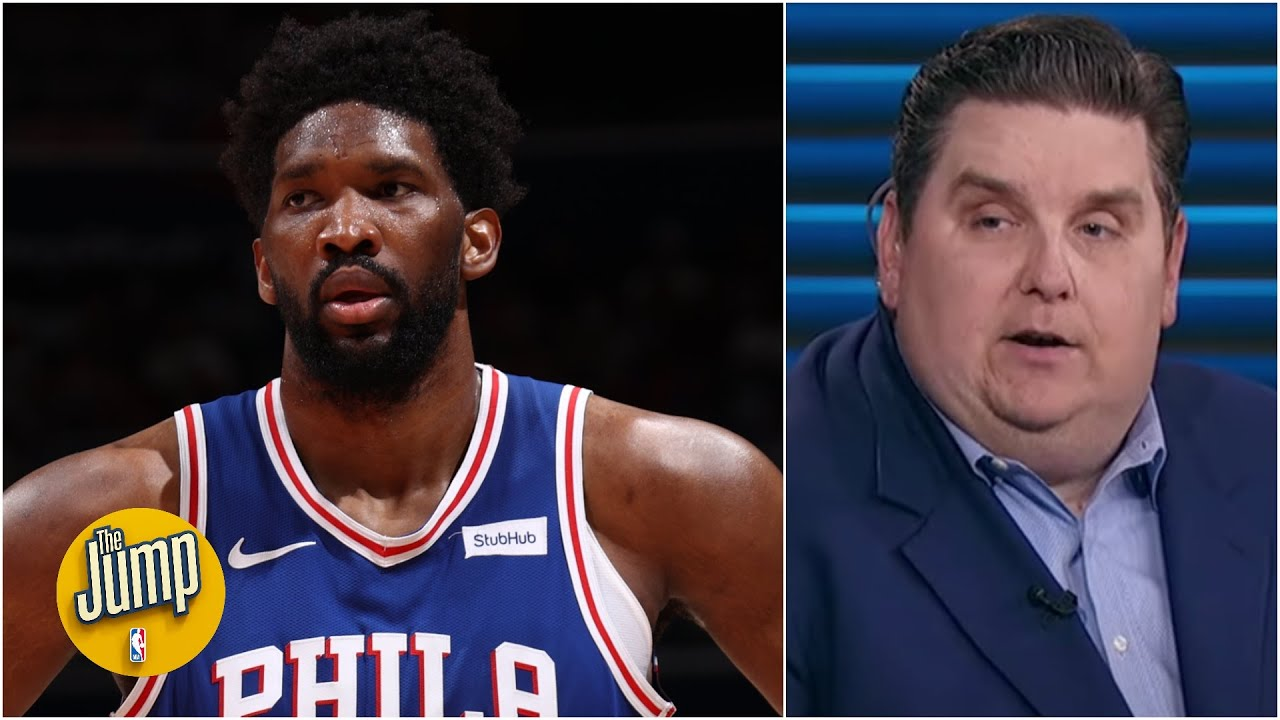 Joel Embiid says he couldn't jump in Game 4. His injured knee will ...