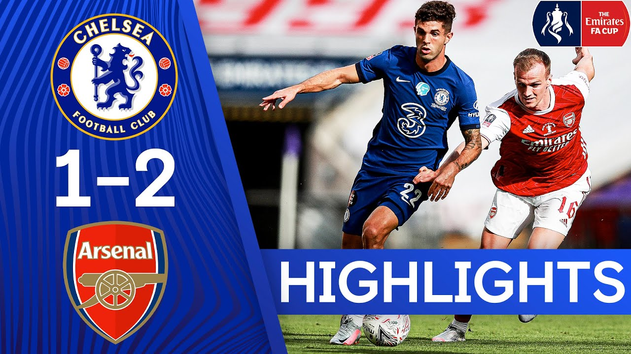 Chelsea 1-2 Arsenal | Heads Up FA Cup Final Highlights