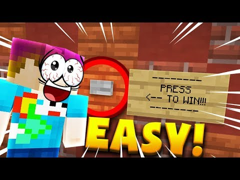 Minecraft: THE EASIEST MAP IN THE WORLD??